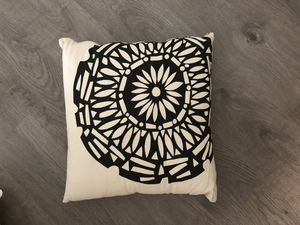 Decorative pillow - linen for Sale in Apex, NC