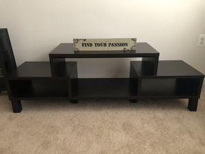Espresso TV Stand for Sale in Arlington, VA