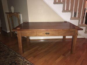 Arhaus wood coffee table for Sale in Midlothian, VA