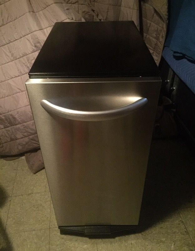 stainless steel trash compactor