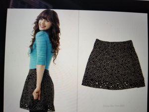 "ASO: ""New Girl"" Zoe Deschanel 😍\ I ♥️ Ronson POLKA dot Cutout/Lattice Skirt. Size 0. for Sale in Seattle, WA"