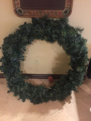 Very large 60-inch wreath for Sale in Pittsburgh, PA