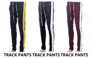 Burgundy/white track pants size large,xlarge for Sale in Fairfax, VA