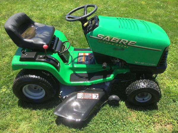 John Deere Sabre >> John Deere Sabre 16hp 42 Riding Lawn Mower Lawn Tractor For Sale In Lewisburg Pa Offerup