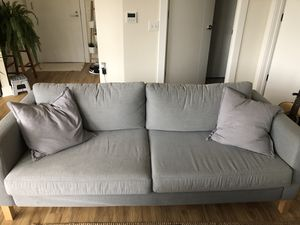 IKEA grey couch for Sale in Hanover, MD