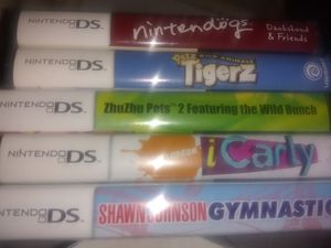 Nintendo DS games 5 games for Sale in Forest Heights, MD