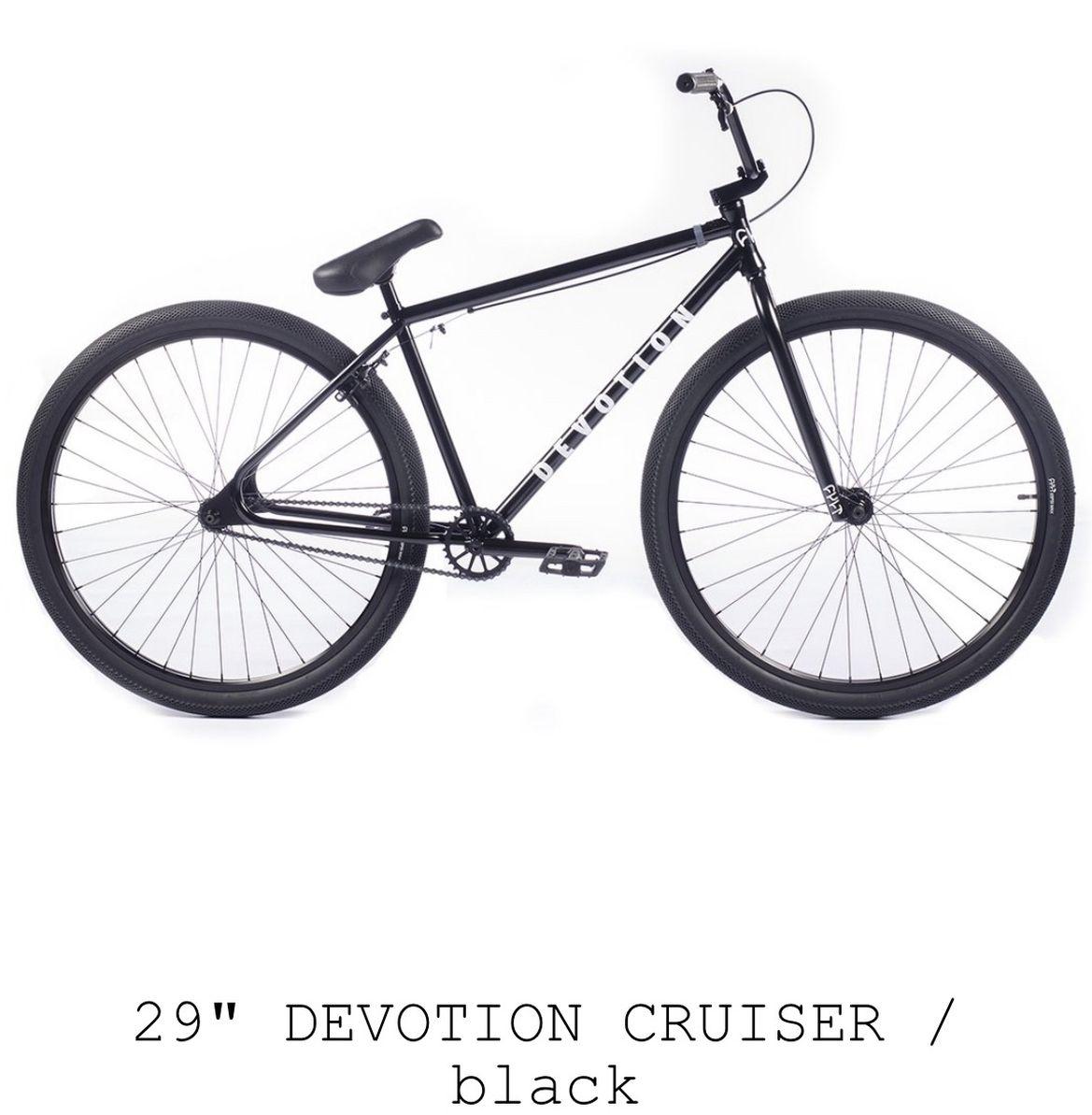 "CULT CREW - 29"" DEVOTION CRUISER  BLACK  BRAND NEW IN BOX"