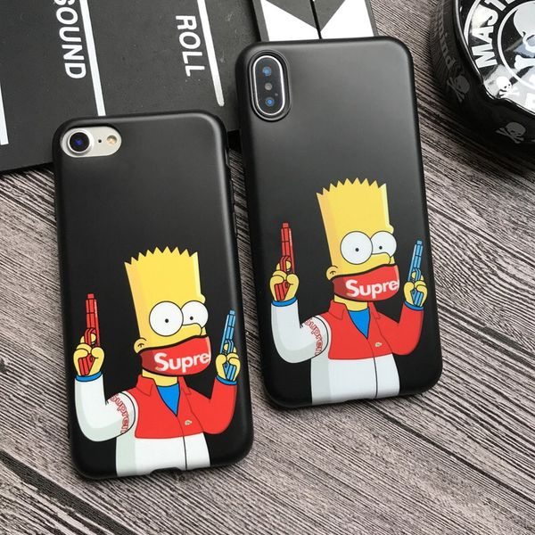 buy popular b9a60 dc518 Bart Simpson -supreme iPhone case- free shipping for Sale in Pittsburg, CA  - OfferUp
