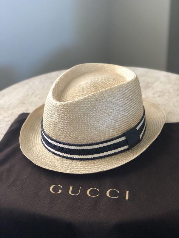 b0affacf3fe Gucci straw hat for Sale in La Mirada