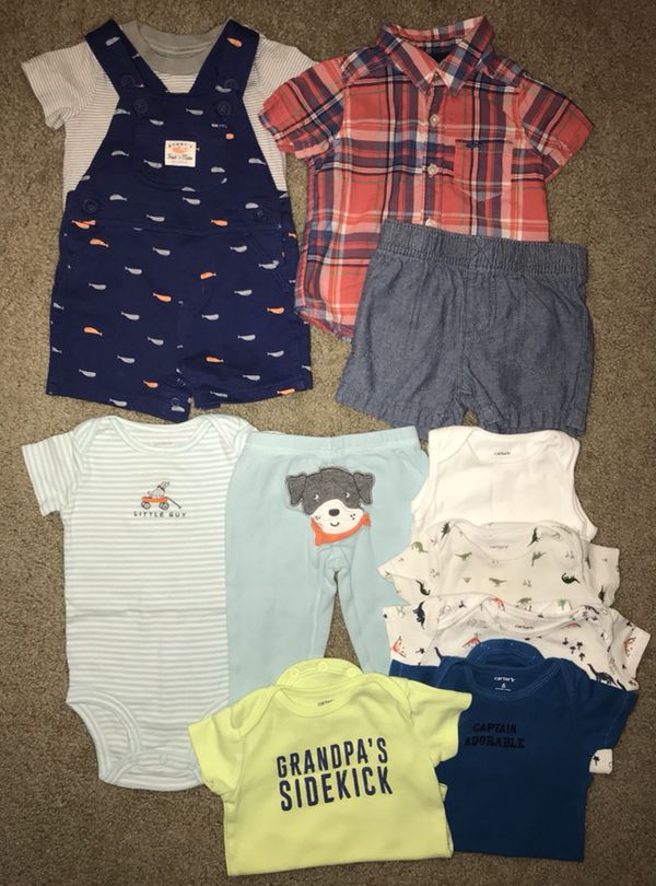 2bb64f6b4 Baby boys size 6 months spring and summer Carters brand clothing ...