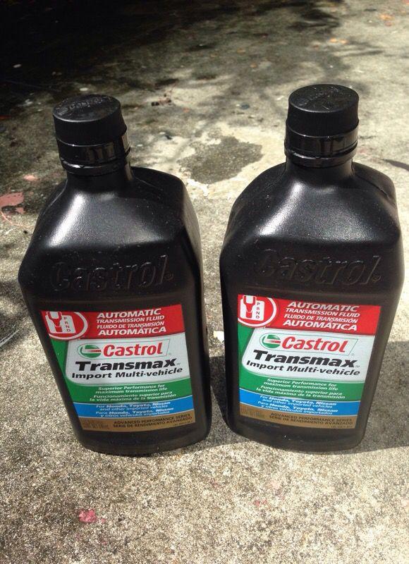 Castrol transmax automatic multi engine transmission fluid for Sale in  Miami, FL - OfferUp