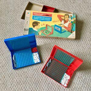 Vintage 1967 Milton Bradley Battleship Board Game #4730 - Original Edition & 100% COMPLETE!! for Sale in Easton, PA