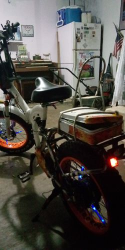 F-15RS fat tire folding bike 1000 watt bafang motor 48 volt 21 amp hourbatt Thumbnail