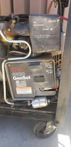 Onan genset 6500 RV generator, camper,trailer,toyhauler,camping,tent,cabin Thumbnail
