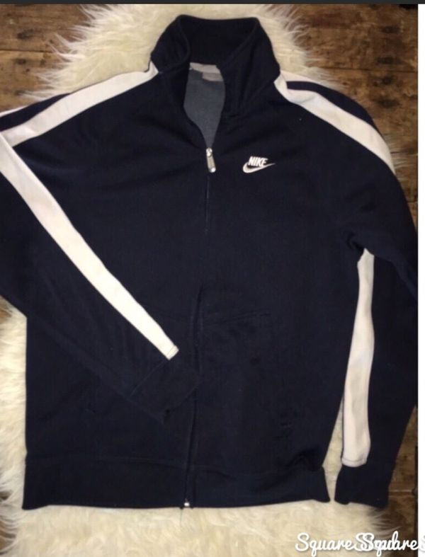 b84f3aa97b Men s vintage navy blue Nike track jacket great condition size large for ...