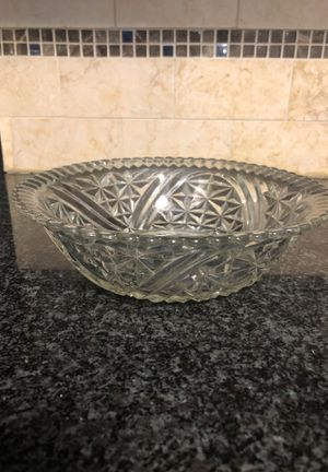 Two antique glass bowls for Sale in Burke, VA