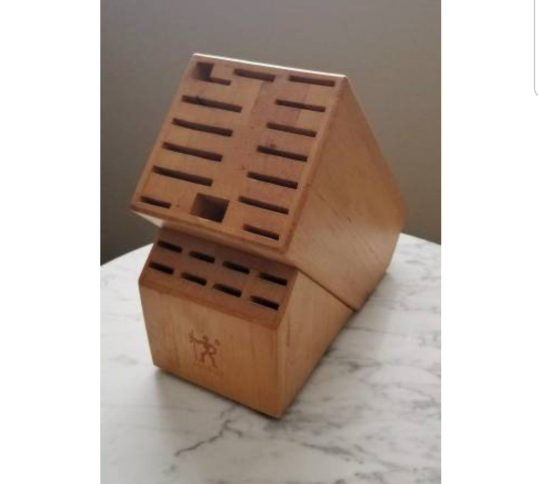 J.A. Henckels International 23-Slot Knife Storage Block