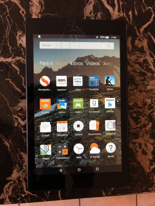 Amazon Kindle works perfect (cracked screen) for Sale in Miami, FL - OfferUp