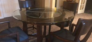 High table and bar stools for Sale in Leesburg, VA