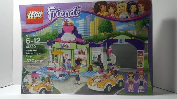 Lego Friends Heartlake Frozen Yogurt Shop New Sealed Selling For