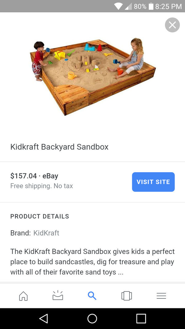 Kidkraft Backyard Sandbox kidkraft backyard sandbox for sale in charlotte, nc - offerup