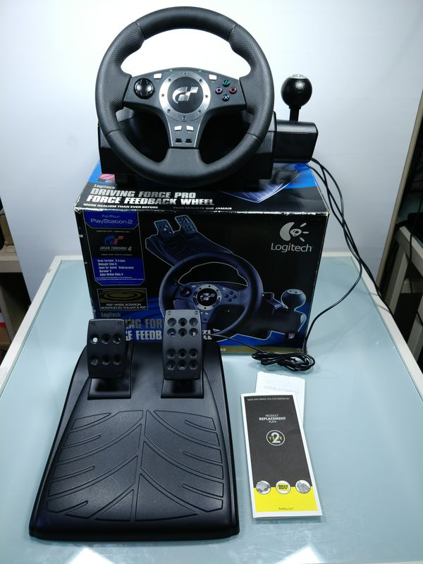 Logitech Driving Force Pro Steering wheel for PC, PlayStation 2 and 3 for  Sale in City of Industry, CA - OfferUp