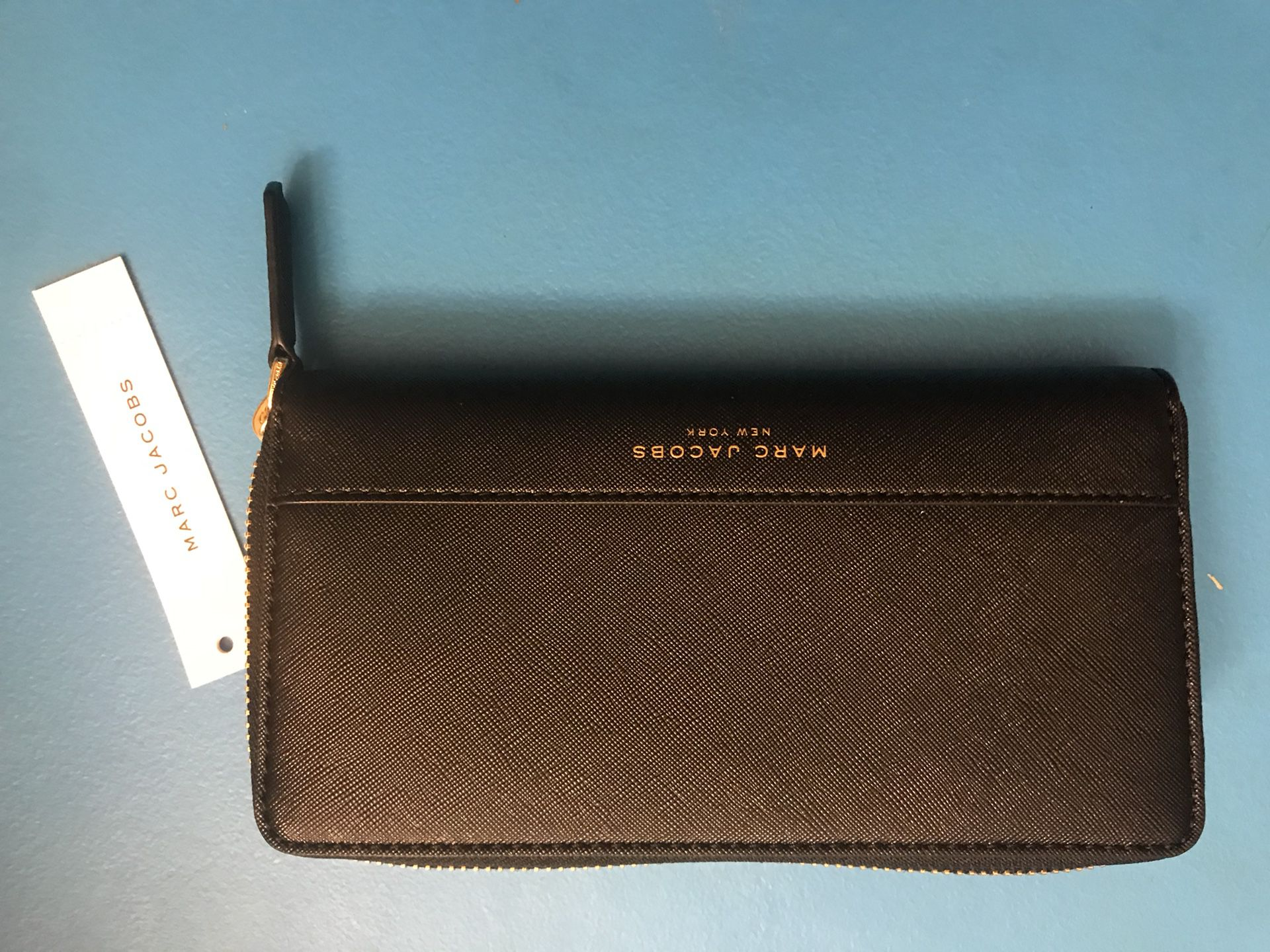 Marc Jacobs Black Leather Wallet