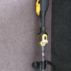 DEWALT FLEXVOLT 60-Volt MAX Lithium- Ion Electric Cordless Attachment Capable String Trimmer(Tool-Only)$150 like new conditions  Thumbnail