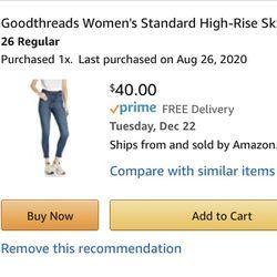 Goodthreads High Rise Skinny Jeans Thumbnail