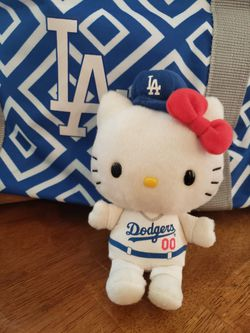 Hello Kitty Dodgers plush only 2 left in package!! Thumbnail