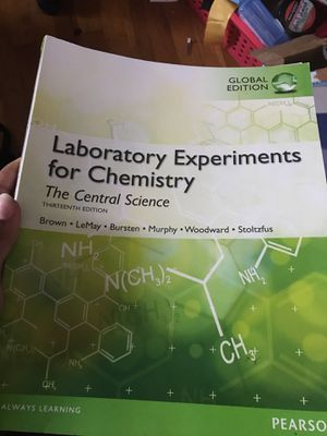 General Chem lab textbook for Sale in Westbury, NY - OfferUp