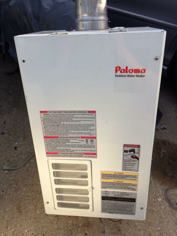paloma tankless water heater. Paloma Tankless Water Heater L