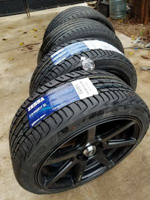 Wheel 17 set tires 215/40ZR17 for Sale in Adelphi, MD