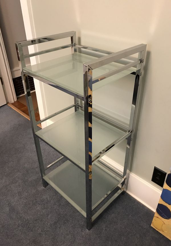 Glass / Chrome shelf for Sale in Portland, OR - OfferUp