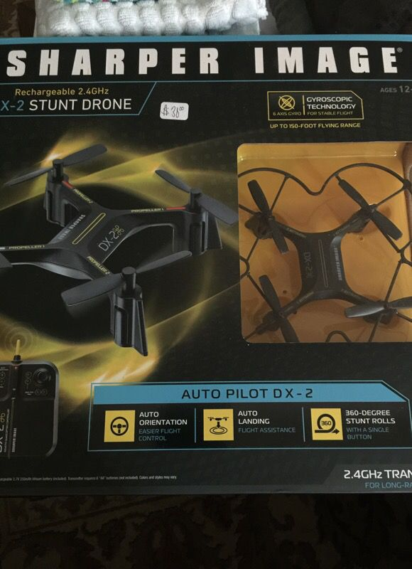 Sharper Image Dx To Stunt Drone Auto Pilot Brand New In The Box For