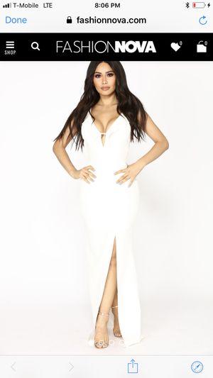 Ivory Fashion Nova Dress NWT for Sale in Dallas, TX