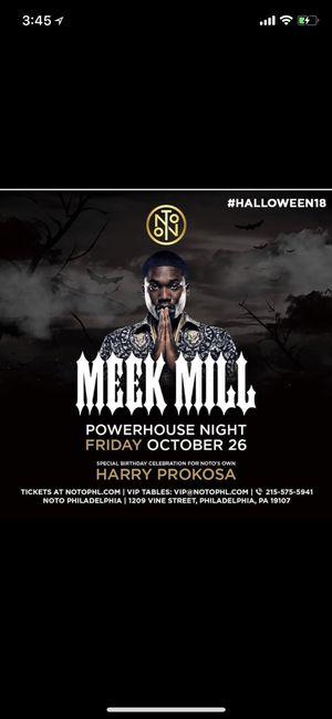 Meek Mill Live Halloween Weekend for Sale in Philadelphia, PA