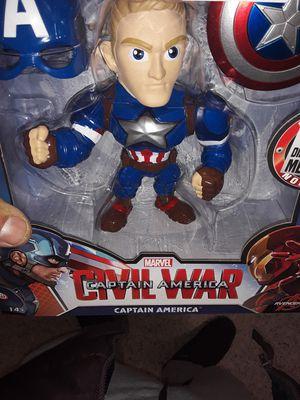 Marvel metal captain América for Sale in Falls Church, VA