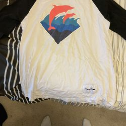 Men's Pink Dolphin Shirt Thumbnail