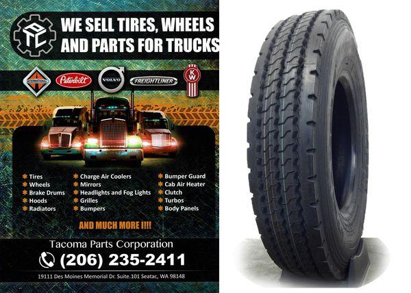 Semi Truck Tire 12R22 5 Triangle (18 Ply) for Sale in Des Moines, WA -  OfferUp