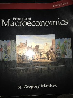 Rules for writers and principles of Macroeconomics for Sale in Fairfax Station, VA