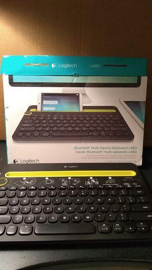 2897448bfc0 Logitech K480 Wireless Multi Device Bluetooth Keyboard for Sale in Phoenix,  AZ