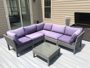 Outdoor Sectional and Coffee Table Furniture for Sale in Silver Spring, MD