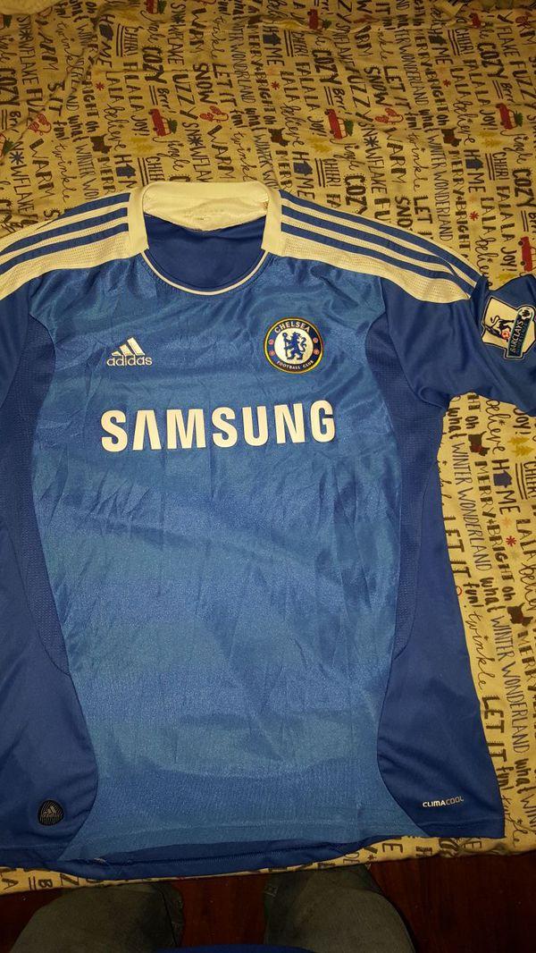 eb2785cc623 Didier Drogba Chelsea premier league 2012 jersey size L for Sale in ...
