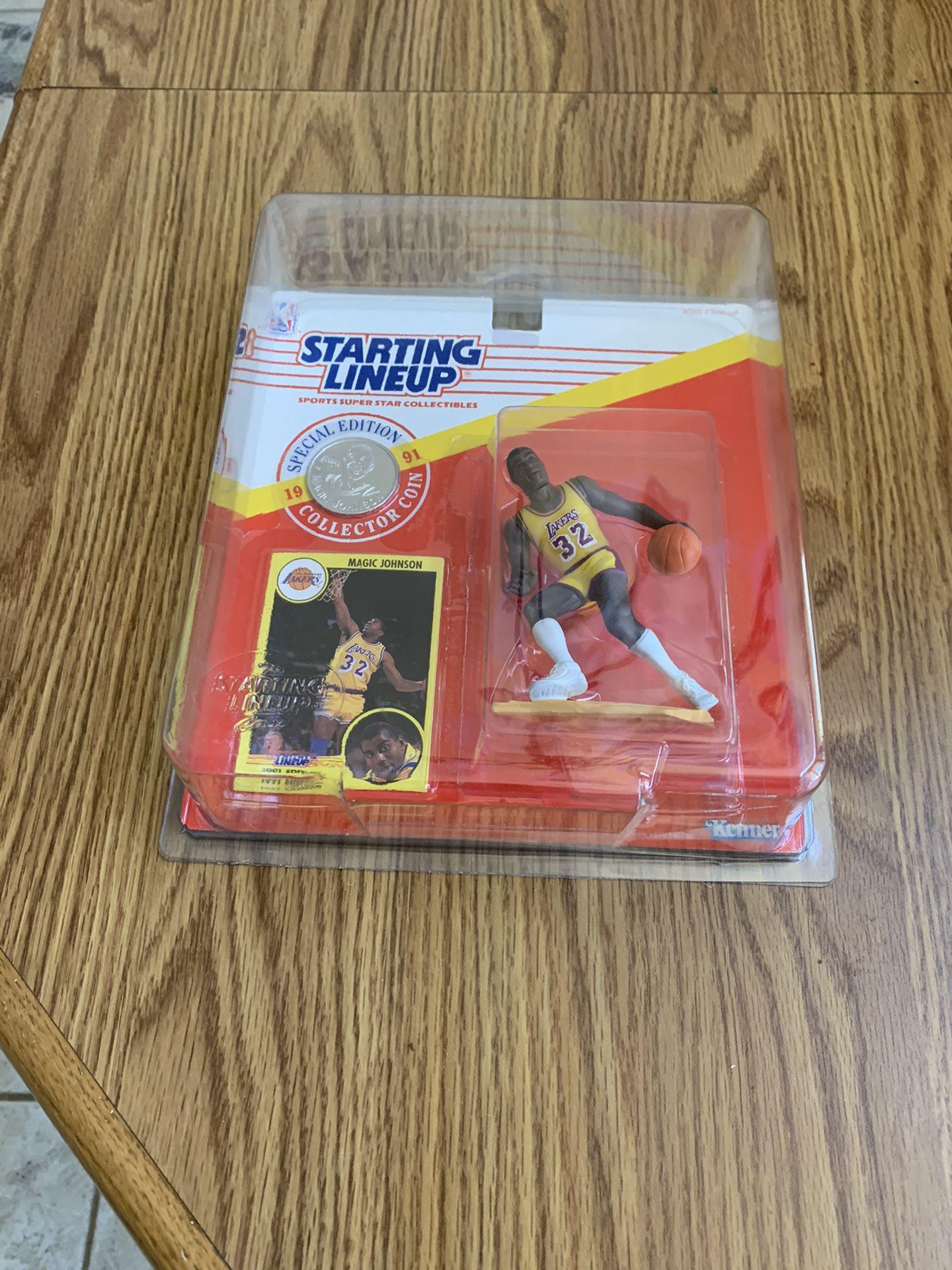 1991 Magic Johnson Figure