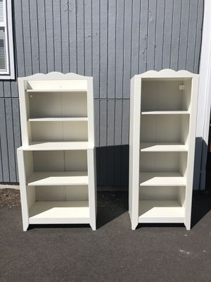 New And Used White Bookcase For Sale In Edmonds Wa Offerup