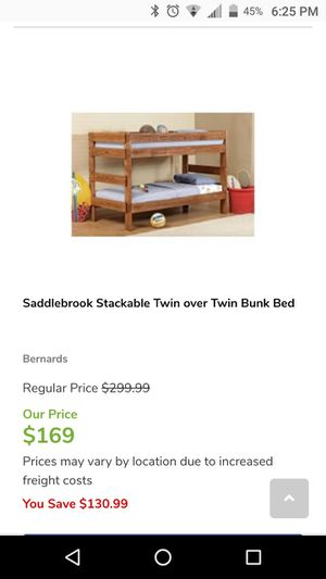 Stackable Twin Bunk Beds For Sale In Memphis Tn Offerup