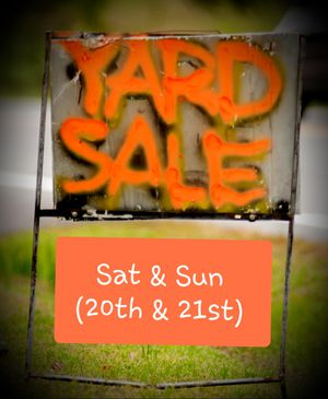 Awesome Yard Sale! for Sale in Baltimore, MD