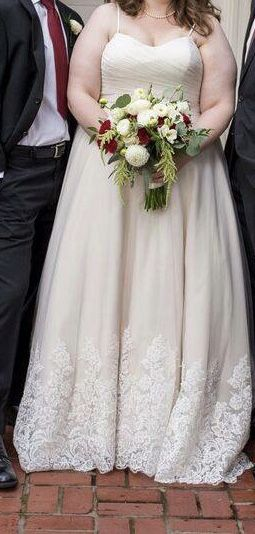 Wedding Dress Size 22 for Sale in Portland, OR