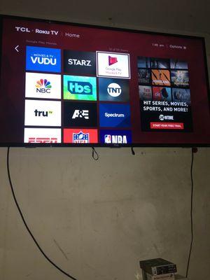 "55"" 4K Smart Roku TV for Sale in Germantown, MD"